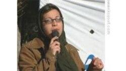 شادی صدر یکی از برندگان جایزه بین المللی شجاعت زنان در سال ۲۰۱۰