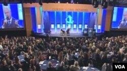 Sa završne plenarne sjednice Clintonove Globalne Inicijative u New Yorku