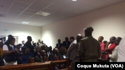 Julgamento Activistas Tribunal Provincial Luanda - Benfica