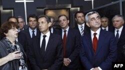 Николя Саркози в Армении