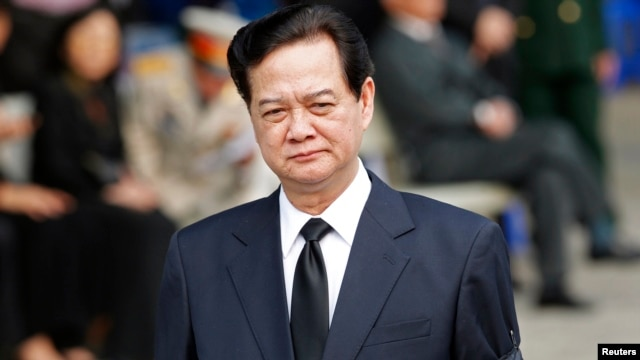 FILE - Vietnam's Prime Minister Nguyen Tan Dung.