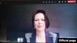 Bà Christine Schraner-Burgener, đặc sứ Liên hiệp quốc về Myanmar.