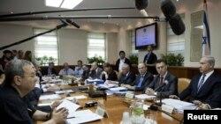 اسرائیلی وزیر اعظم نے اتوار کو کابینہ کے اجلاس کی صدارت کی