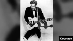 Чак Берри в 1957 году
