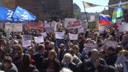 Moscow Residents Resist Massive Demolition Plan