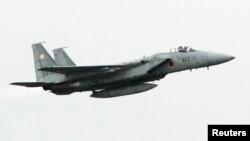 日本空中自卫队的F-15战机。(资料照)