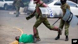 Brutalidade policial, Quénia.
