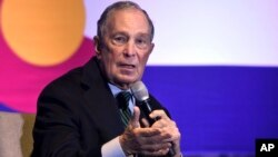 Ứng viên tổng thống Hoa Kỳ Michael Bloomberg.
