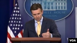 조시 어니스트 미 백악관 대변인 (자료사진)