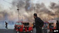 Waandamanji mjini Baghdad Iraq