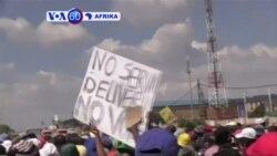 VOA60 Afrika:Wakazi wa Zandspruit, Afrika Kusini wafunga barabara kupinga kushindwa kwa serikali kutowa huduma za umeme na huduma nyenginezo