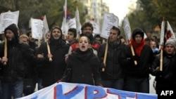 """Yunanistan'da """"Kemer Sıkma"""" Bütçesi Onaylandı"""