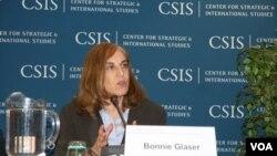葛來儀,戰略與國際研究中心資深研究員(美國之音鍾辰芳拍攝)