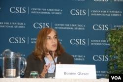 葛來儀是美國戰略與國際研究中心資深研究員(美國之音鍾辰芳拍攝)