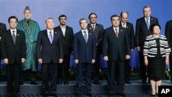 جلسه کشورهای عضو سازمان شانگهای در قزاقستان