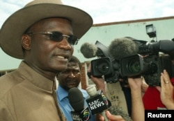 FILE - Former Minister of Information Jonathan Moyo
