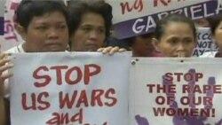 Philippine Activists Protest Aquino's US Visit