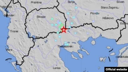 Series Of Mild To Moderate Earthquakes Rattle Macedonia