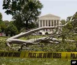 Tempêtes et vague de chaleur ont mis des millions d'Américains aux abois peu avant le 4 juillet