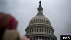 Gedung Capitol AS pada 25 Maret 2020, di Washington, DC. (Foto: AFP)