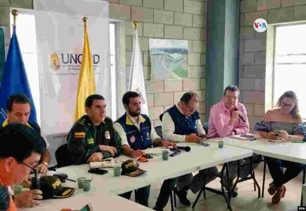 La alcaldía de Cúcuta convoca Puesto de Mando Unificado con presencia de la policía, ejército, gestión del riesgo, defensa civil, la ONU y demás organizaciones para evaluar el tema de la frontera.