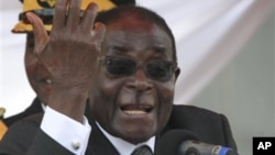 Zuma deve calar Zulu - Robert Mugabe