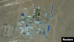 Una de las bases militares de Irán.