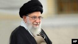 Pemimpin tertinggi Iran, Ayatollah Ali Khamenei