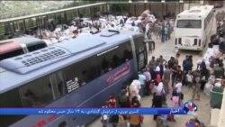 بازگشت صدها پناهجوی سوری از لبنان به سوريه