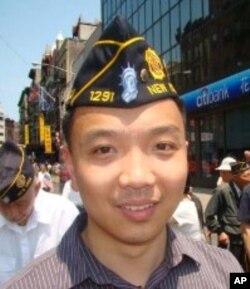 華裔退伍軍人方柏基