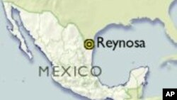 Map of Reynosa, Mexico