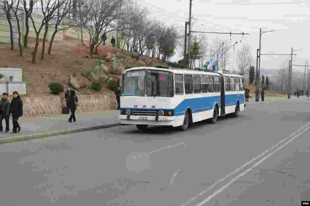 Пхеньянский троллейбус
