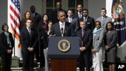 Obama destacó que durante 2011 las petroleras estadounidenses tuvieron una ganancia de $80.000 millones de dólares en 2011.