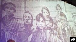 Auschwitz-Birkenau Holocaust survivors.