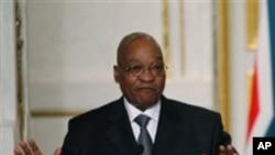 ប្រធានាធិបតីអាហ្រ្វិកខាងត្បូង Jacob Zuma កំពុងបដិសេដការប្រព្រឹត្តិអំពើពុករលួយ។