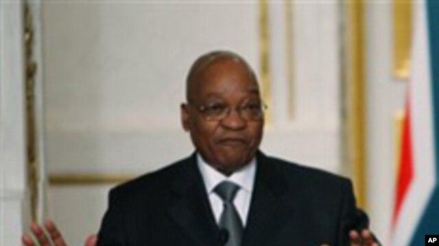 ប្រធានាធិបតីអាហ្រ្វិកខាងត្បូង យ៉ាកុប ហ្ស៊ូម៉ា (Jacob Zuma) បានបដិសេធទៅលើការប្រព្រឹត្តអំពើពុករលួយ