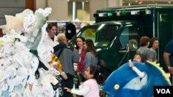 Las actividades para promover reciclaje en los niños fueron organizadas por el Museo de los Niños.