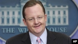 White House Press Secretary Robert Gibbs gestures during his daily briefing at the White House in Washington, Thursday, Dec. 9, 2010. (AP Photo/J. Scott Applewhite)