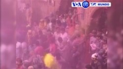 Manchetes Mundo 24 Março: Festival Hindu das cores