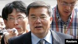 현학봉 영국 주재 북한 대사 (자료사진)
