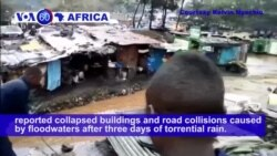 VOA60 Africa - Madagascar: At least 17 people were killed and more than 6,000 were displaced by tropical storm Eliakim