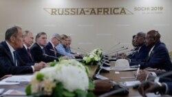 """Lancement du premier grand """"Sommet Russie-Afrique"""" par Vladimir Poutine"""