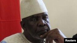 Perdana Menteri Mali Cheick Modibo Diarra saat menghadiri pertemuan dengan tokoh politik di Bamako Agustus lalu. (Foto: Dok)