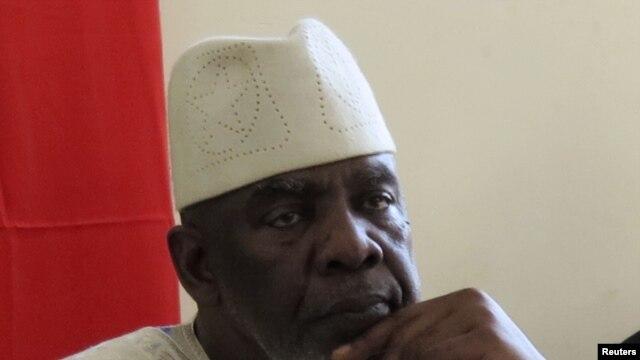 Waziri Mkuu wa zamani wa Mali, Cheikh Modibo Diarra akiwa Bamako, August 10, 2012.