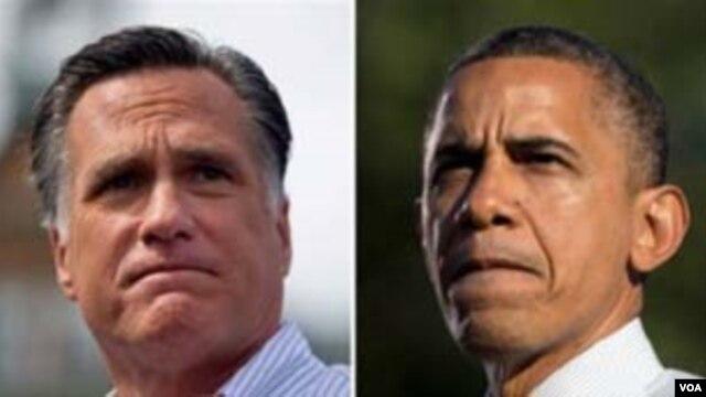VaMitt Romney naVaBarack Obama