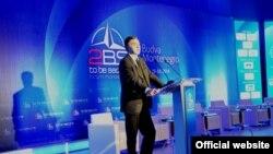 Predsjednik Crne Gore Filip Vujanović govori na konferenciji Atlantskog savjeta Crne Gore (rtcg.me)