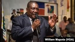 Ossufo Momade, presidente interino da Renamo