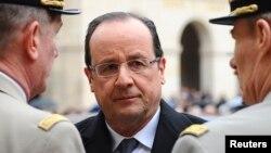 """Francois Hollande a évoqué un départ des militaires français du Mali """"en avril"""""""