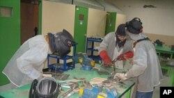 須藤電力科技高中的學生在上工程課