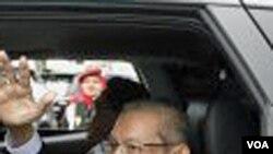 Almarhum Hasan Tiro, pendiri GAM, dalam sebuah kesempatan tanggal 17 Oktober 2009.